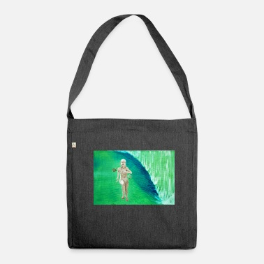 Grave grave threshold - Shoulder Bag made from recycled material