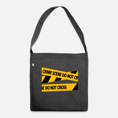 Scene crime scene - Shoulder Bag recycled
