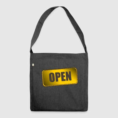 OPEN - Shoulder Bag made from recycled material