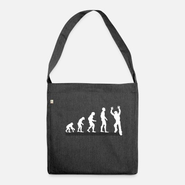 Zombie Zombie Zombies - Schultertasche aus Recycling-Material