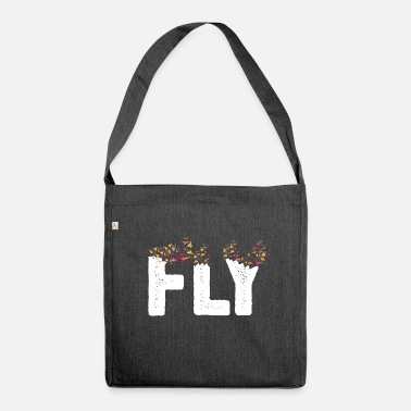 Fly Fly - Shoulder Bag recycled