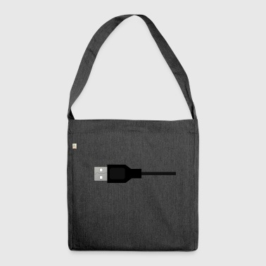 USB - Borsa in materiale riciclato