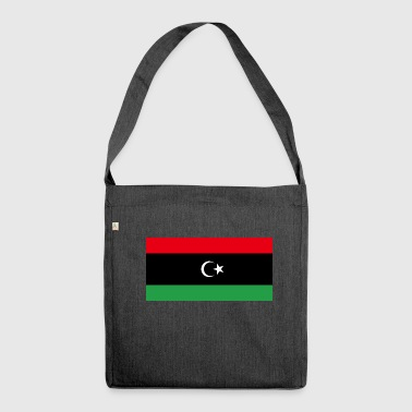 Libya FLagg - Shoulder Bag made from recycled material