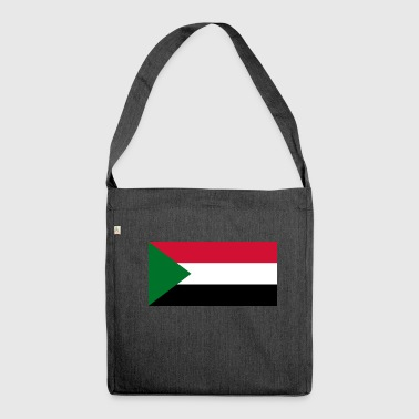 Sudan flag - Shoulder Bag made from recycled material