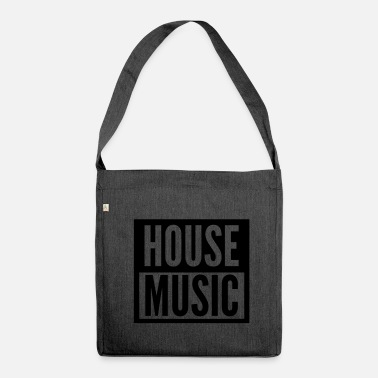 Acid House house music - Shoulder Bag made from recycled material