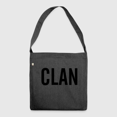 Clan - Schultertasche aus Recycling-Material