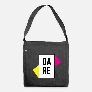 Dare DARE YOURSELF - DARE YOURSELF - Shoulder Bag made from recycled material