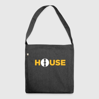 House House Music! - Shoulder Bag made from recycled material