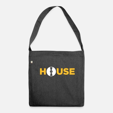 Acid House House Music! - Shoulder Bag made from recycled material