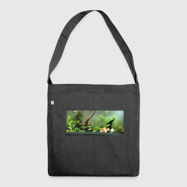 Aquarium First - Schultertasche aus Recycling-Material
