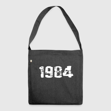Year of birth - Shoulder Bag made from recycled material