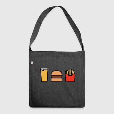 Meal Deal - Shoulder Bag made from recycled material