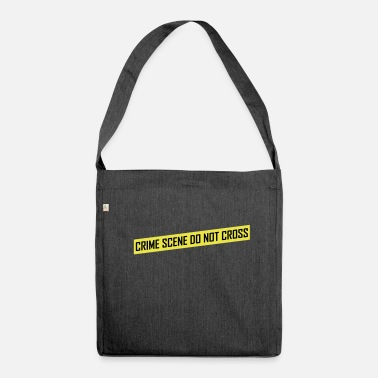 Crime Scene Crime Scene - Shoulder Bag recycled