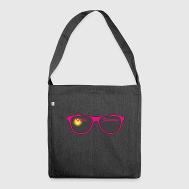 Sunglasses / Sunglasses - Shoulder Bag made from recycled material