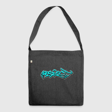respect graffiti day - Shoulder Bag made from recycled material