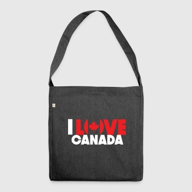 Canada Canada - Shoulder Bag made from recycled material