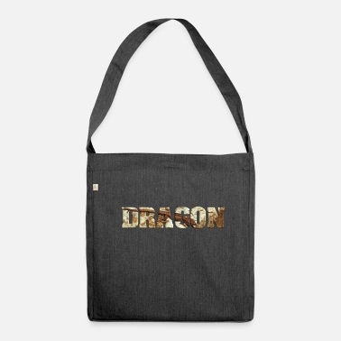 Nimble Dragon nimble lizard Dragon Lizard - Shoulder Bag made from recycled material