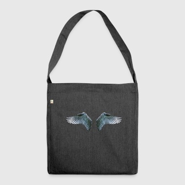 Wings / wings - Shoulder Bag made from recycled material