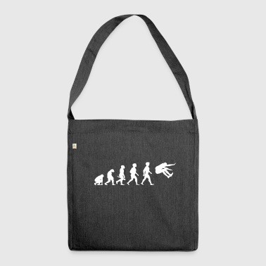 Evolution Long Jump Jumping Athletics - Shoulder Bag made from recycled material