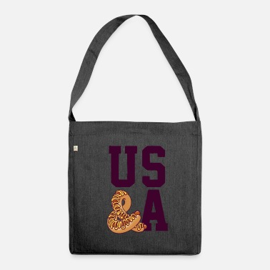Us US & A - Borsa in materiale riciclato