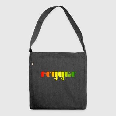 Reggae Music Reggae music - Shoulder Bag made from recycled material
