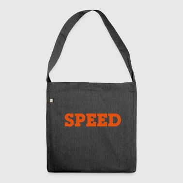 speed - Schultertasche aus Recycling-Material