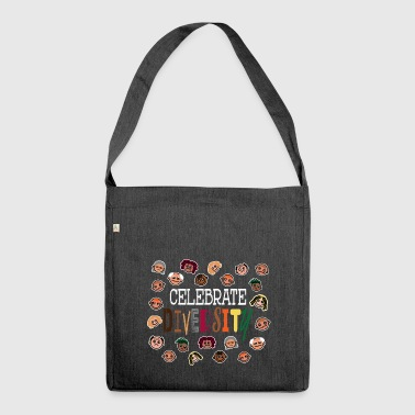 Celebrate Diversity - celebrate diversity - Shoulder Bag made from recycled material