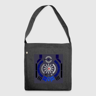 Illustration - Schultertasche aus Recycling-Material