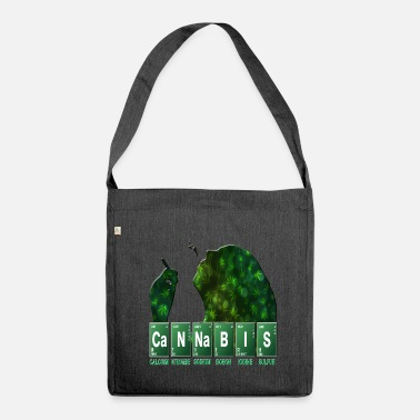 Cannabis cannabis - Shoulder Bag made from recycled material