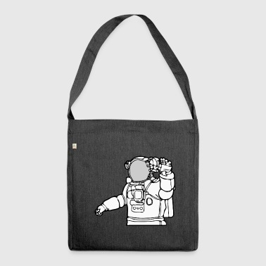 Occupation Astronaut - Shoulder Bag made from recycled material