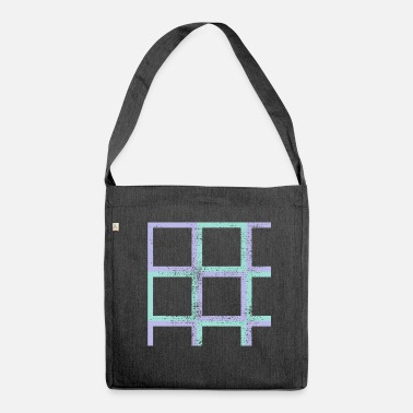 Quadrangles quadrangles - Shoulder Bag recycled