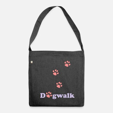 Dogwalking Dogwalk - Shoulder Bag recycled