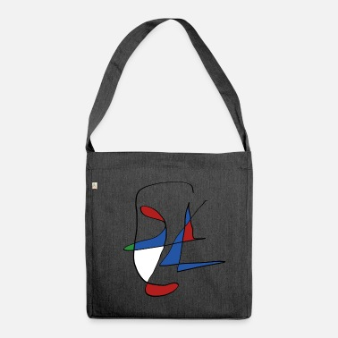Shape shape - Shoulder Bag made from recycled material