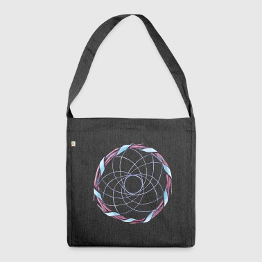 dream catcher - Shoulder Bag made from recycled material