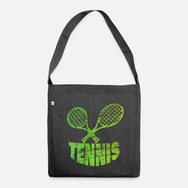 Tennis Racket Tennis Tennis racket Tennis - Shoulder Bag recycled