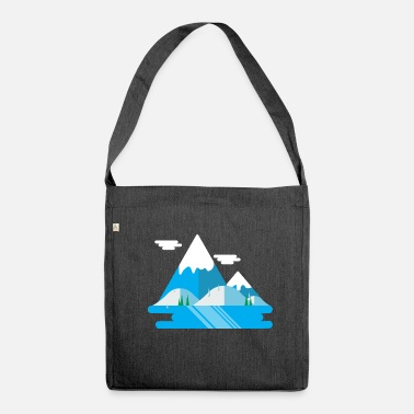 Nature Collection Mountain - Shoulder Bag recycled