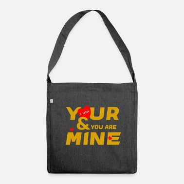 Desi i am yours and you are mine loce cool fashion desi - Borsa a tracolla riciclato