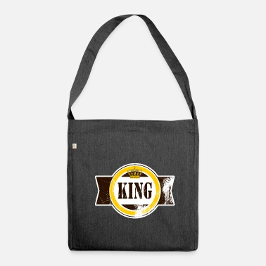 King King King King King King Prince - Shoulder Bag made from recycled material