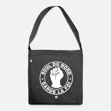 Northern Soul The soul of the North! - Shoulder Bag made from recycled material