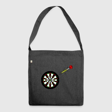 Dart To Board - Shoulder Bag made from recycled material