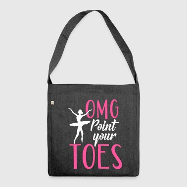 OMG Point Your Toes - Schultertasche aus Recycling-Material