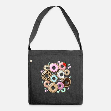 Donut donuts - Shoulder Bag made from recycled material