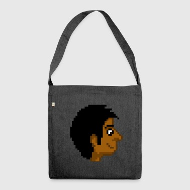Pixel Inder - Schultertasche aus Recycling-Material