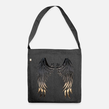 Wing Wings wings - Shoulder Bag made from recycled material