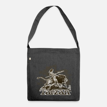Tarzan Wild Lion Cool Drawing - Shoulder Bag recycled
