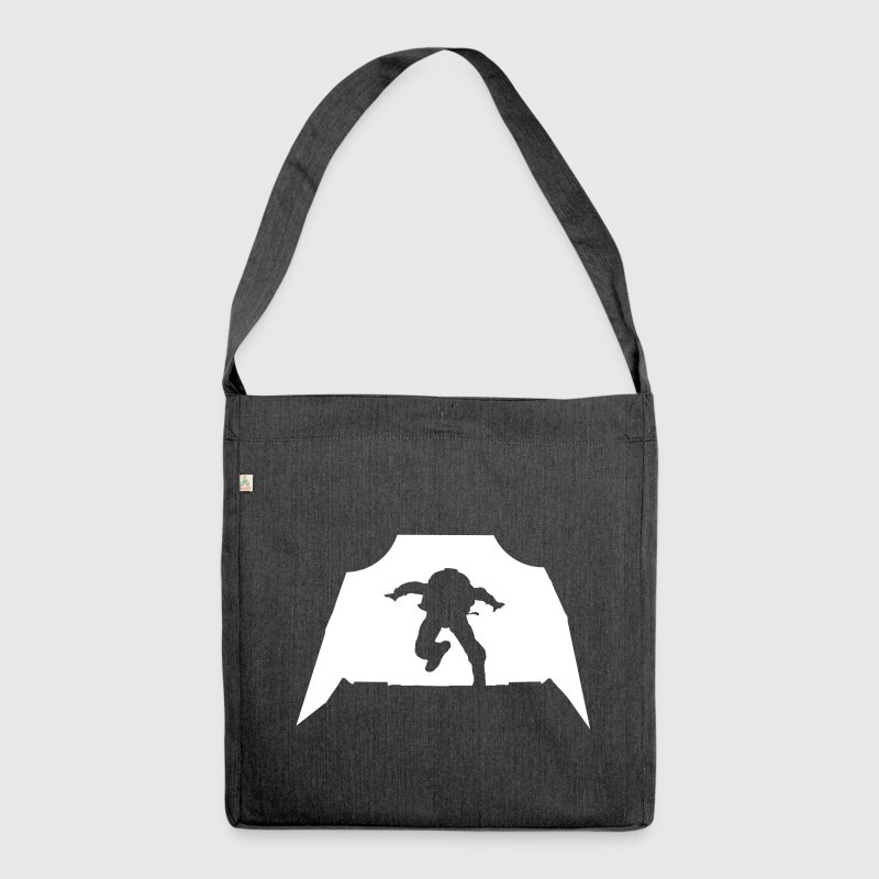 Skydiving - Parachuting - Shoulder Bag made from recycled material