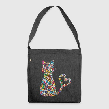 Chat-Blase - Schultertasche aus Recycling-Material