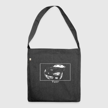 Viper muscle car - Shoulder Bag made from recycled material