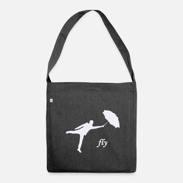 Fly fly / fly - Shoulder Bag recycled