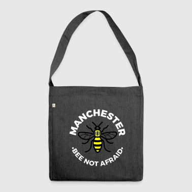 Manchester - Bee Not Afraid - Shoulder Bag made from recycled material